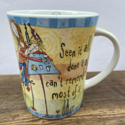 Johnson Bros Born To Shop Mug - Seen it all, done it all