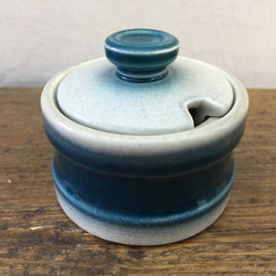 Wedgwood Blue Pacific Mustard Pot