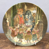 Wedgwood Wind In The Willows Christmas Plate