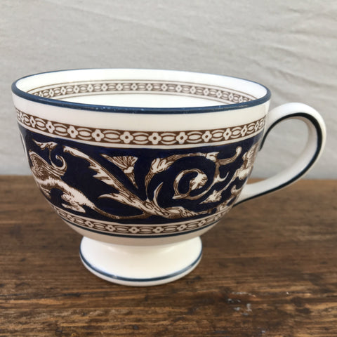 Wedgwood Florentine Navy Tea Cup (Leigh Shape)