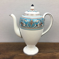Wedgwood Florentine Turquoise Coffee Pot