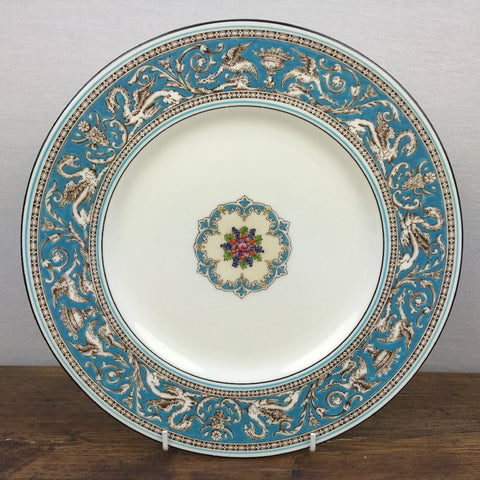 Wedgwood Turquoise Florentine Dinner Plate