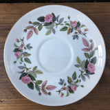 Wedgwood Hathaway Rose Breakfast Saucer