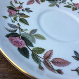 Wedgwood Hathaway Rose Breakfast Cup Saucer