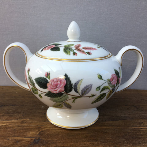 Wedgwood Hathaway Rose Lidded Sugar Bowl