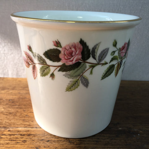 Wedgwood Hathaway Rose Flower Pot
