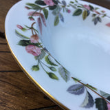 "Wedgwood Hathaway Rose 8"" Rimmed Bowl"