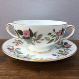 Wedgwood Hathaway Rose Soup Cup & Saucer