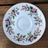 Wedgwood Hathaway Rose Soup Saucer