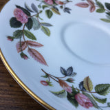 Wedgwood Hathaway Rose Soup Cup Saucer
