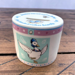 Wedgwood Beatrix Potter Jemima Puddleduck Money Box
