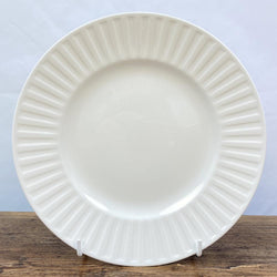 Wedgwood Night & Day Salad/Breakfast Plate, White - Fluted