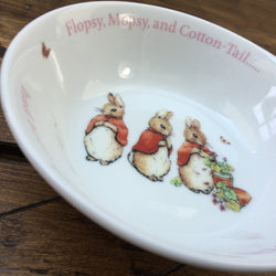 Wedgwood Peter Rabbit Flopsy, Mopsy, Cotton-Tail Bowl
