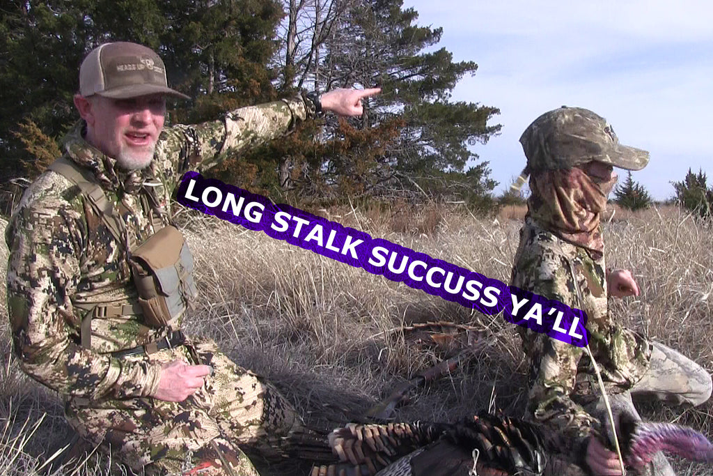 Long Stalk Turkey Hunt on Kansas Public Land
