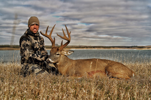Public land Whitetail Success with Heads Up Decoy