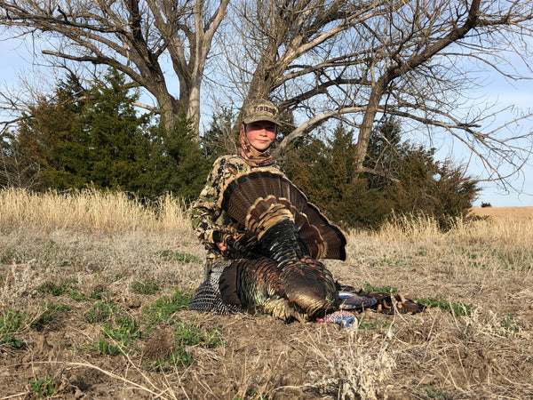 rio grande turkey hunting, heads up decoy, turkey decoy, turkey reaping