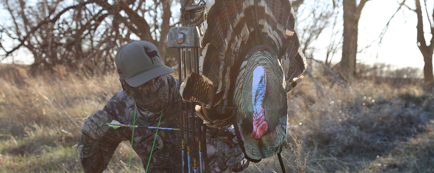 Heads Up Decoy Bow Mountable Turkey Decoy, That's Bowhunting