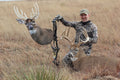 Giant whitetail buck killed with decoy