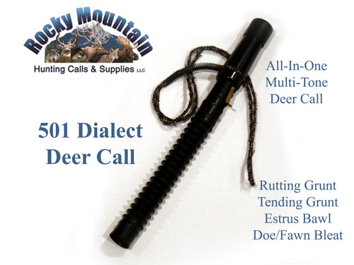 Whitetail Grunt Tube and deer call
