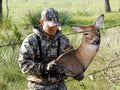 Heads Up Whitetail Doe Decoy for bow hunting whitetails