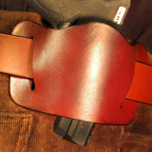 Dark's Leather Batwing Handgun Holster Tan