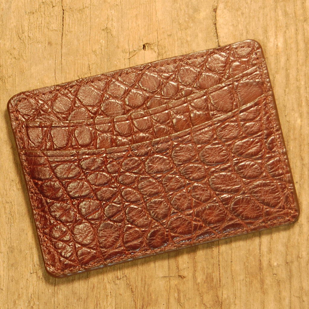 Business Card Wallet – Darks Leather