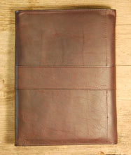 Dark's Leather Journal in Espresso Bison, Back