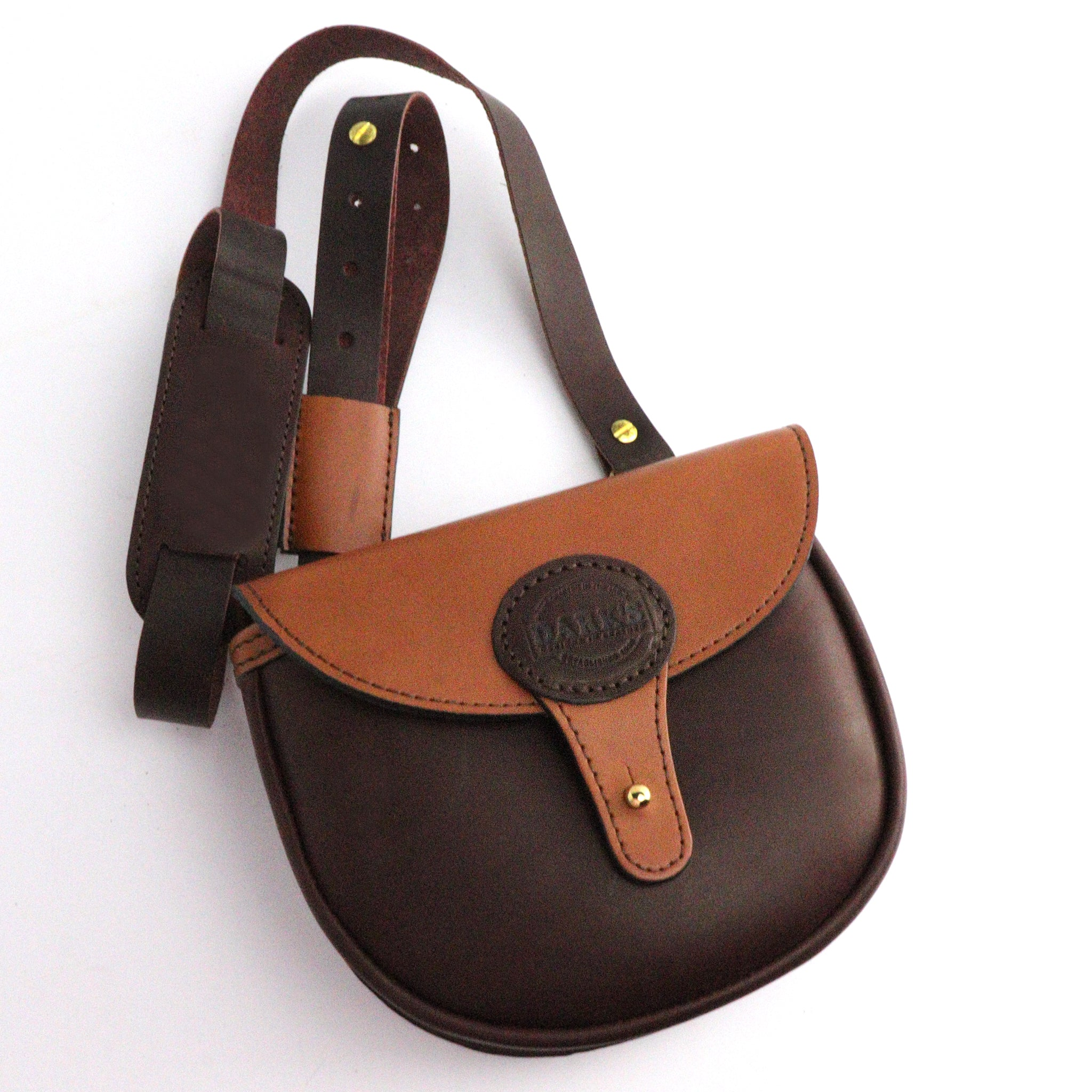 Dark's Leather - Speed Bag Shoulder Strap View