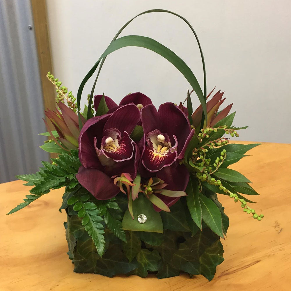 Floral Handbag Arrangement.