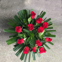 Custom Dozen Red Rose Bouquet