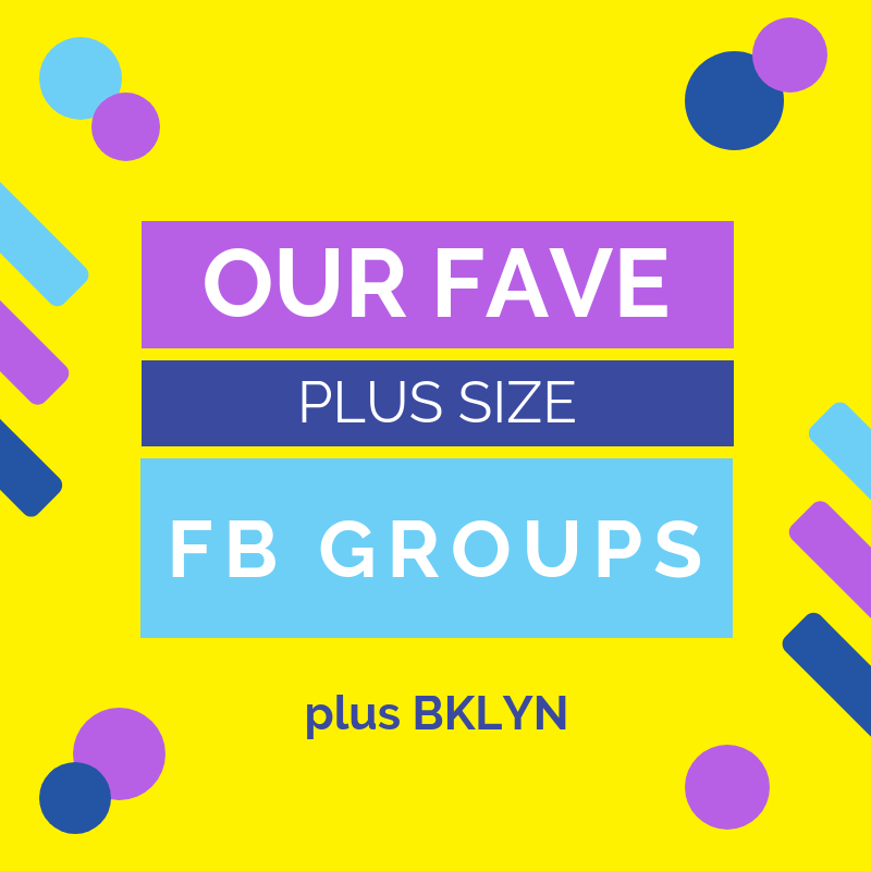 Our Favorite Plus Size Facebook Groups