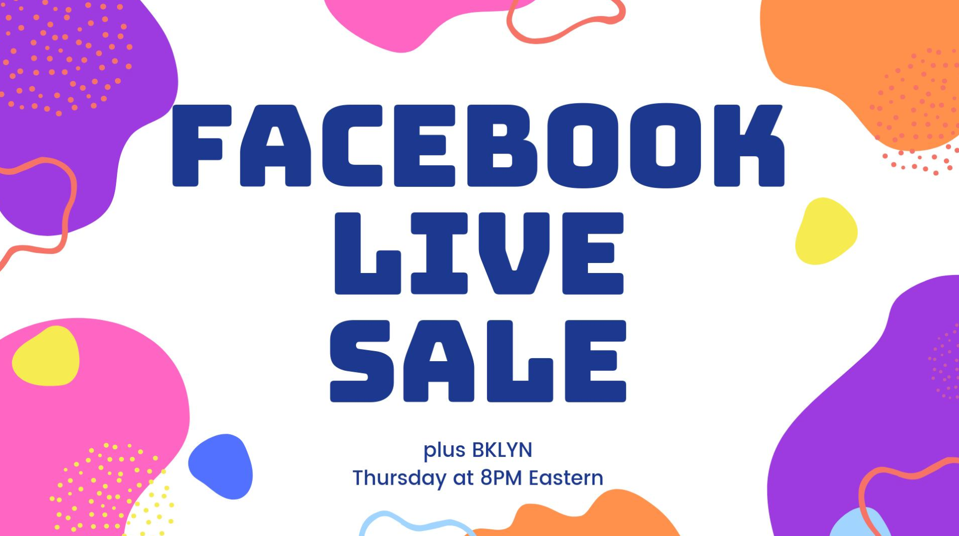 Facebook Lives Every Thursday - PLUS SIZE RESALE