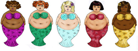 Mermaid Fatshion