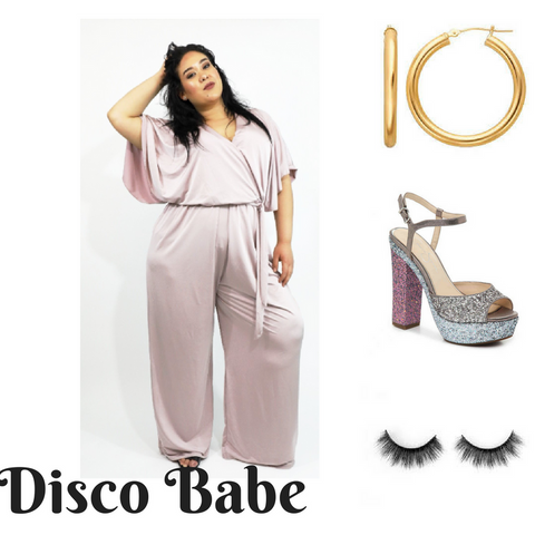 Plus Size Disco Costume