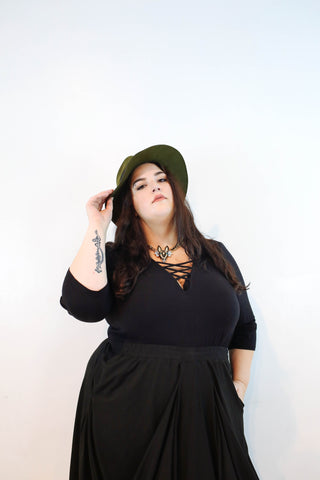 Faith Costa Plus Size Model NYC