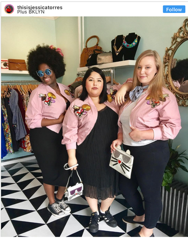 Jessica Torres Plus Size Blogger NYC Plus Bklyn