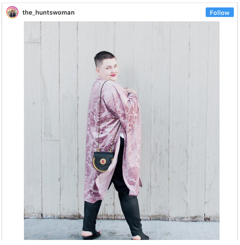 The Huntswoman Brianne Huntsman Plus Size LGBT Queer Blogger