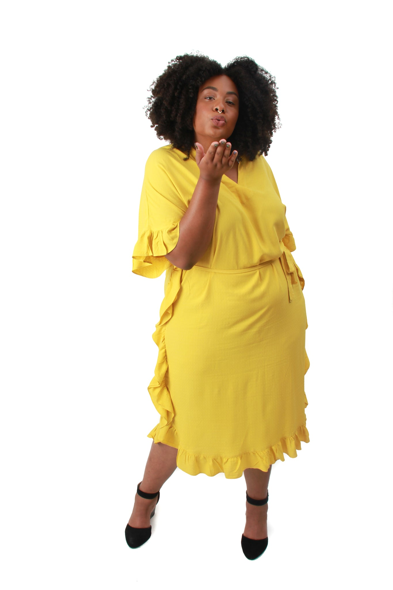 Yellow Palmira Dress