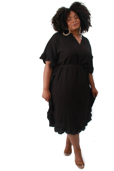Black Palmira Dress