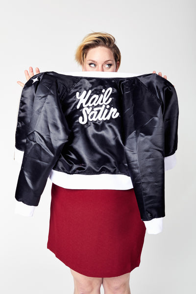 Hail Satin Bomber Jacket
