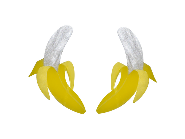 Vinca - Xl Banana Earrings
