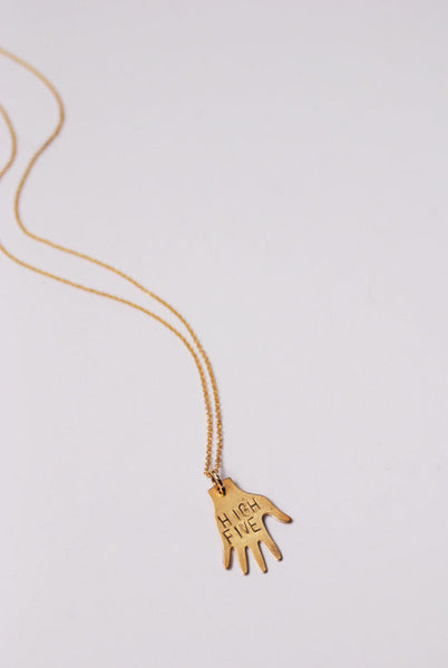 High Five Necklace