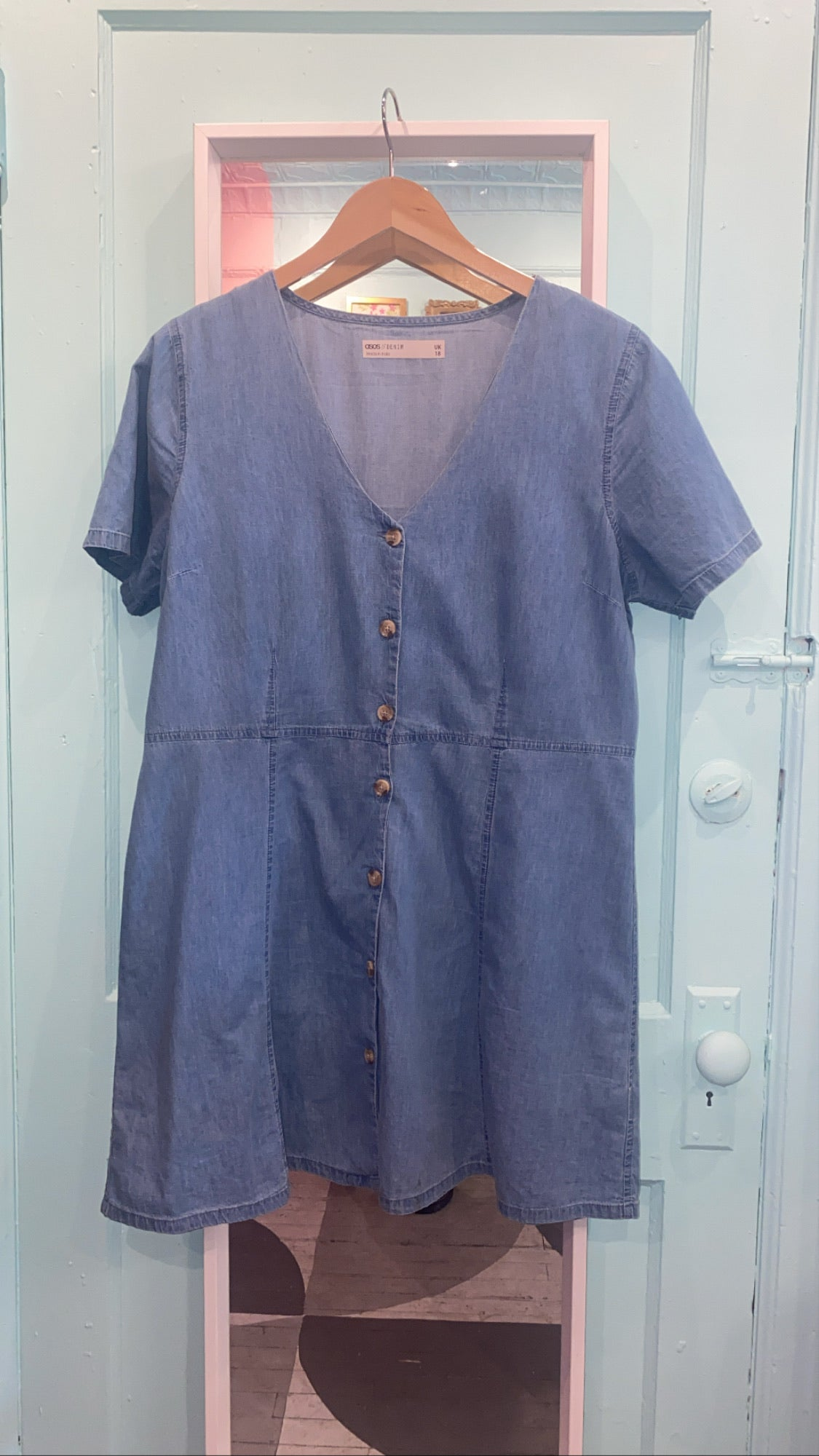 ASOS chambray dress