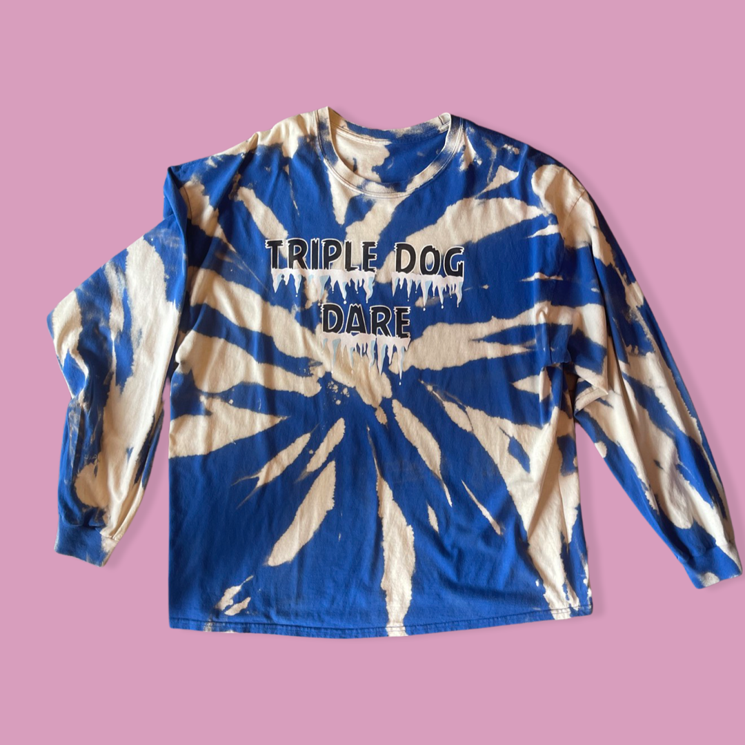 Triple Dog Dare Acid Washed Top
