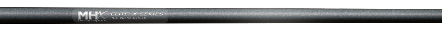MHX Elite-X Rod Blanks come in a Platinum Gray finish
