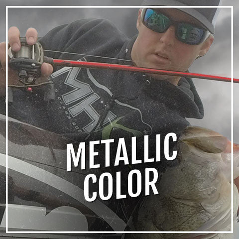 MHX Metallic Color Freshwater rod blanks