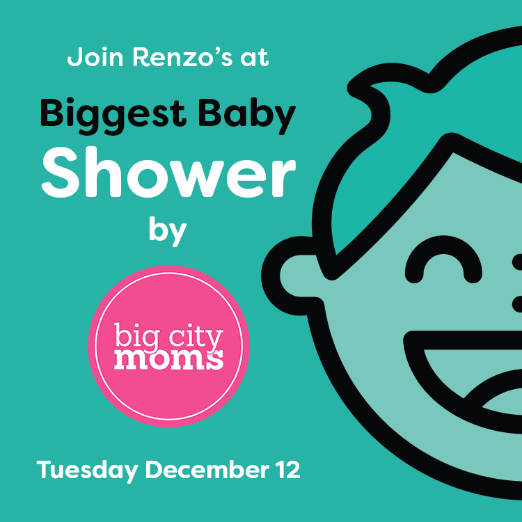 Join Renzo's At The Biggest Baby Shower Ever!