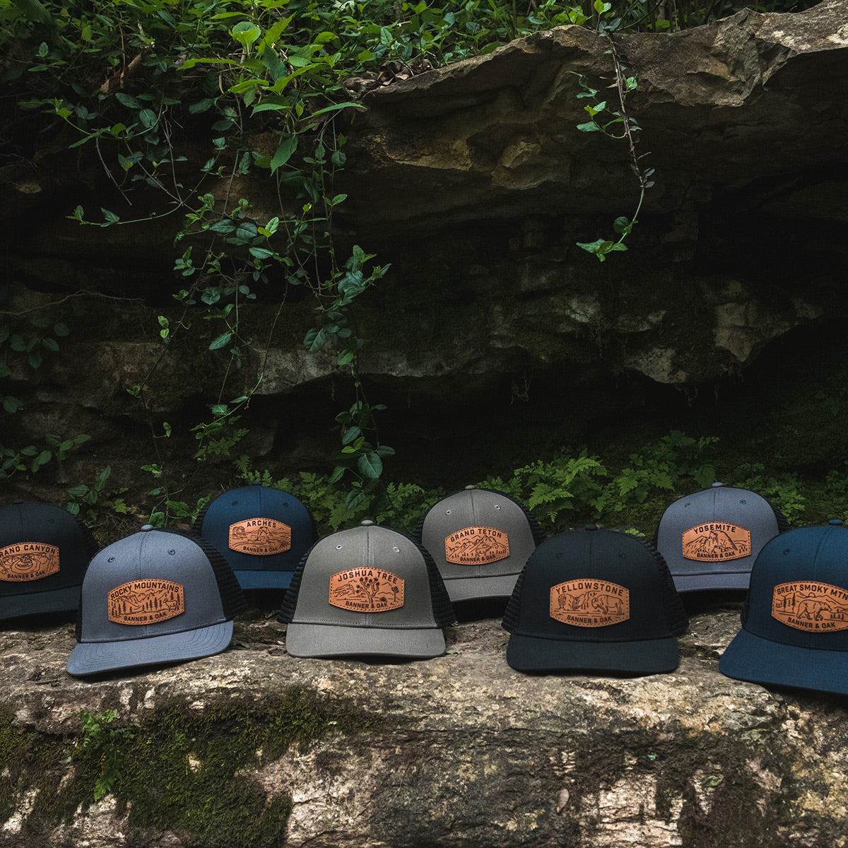 Limited Edition National Park Cap Series from Banner and Oak