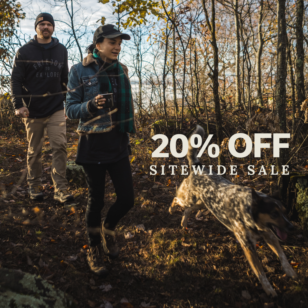 Calling all Explorers to Our 20% Off Sitewide Sale!