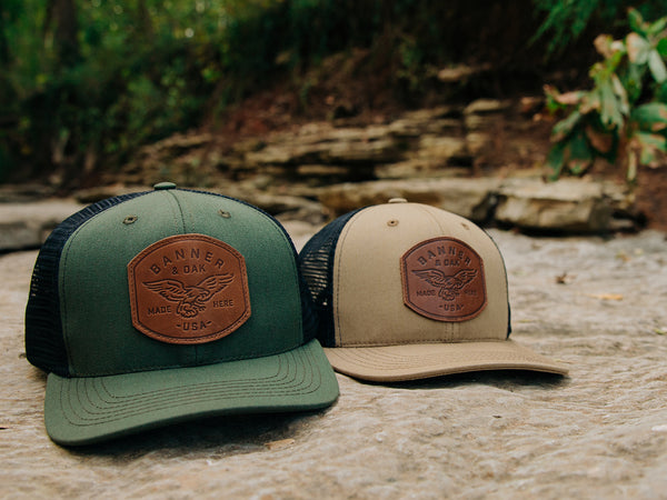 Eagle Leather Hats Collection Page